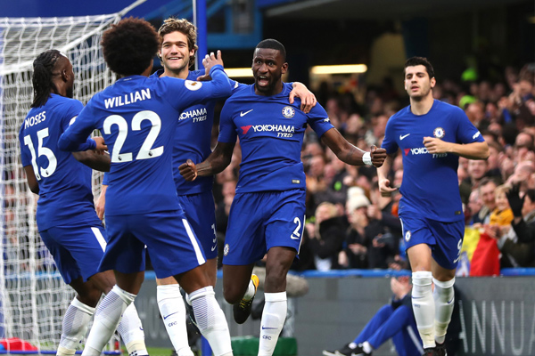 EPL : Chelsea beat Stoke City by 5-0, Liverpool also won - Football News in Hindi