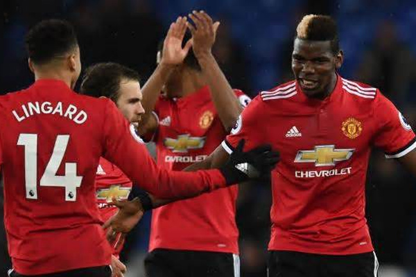EPL : Manchester United come again on second place after beating Everton - Football News in Hindi