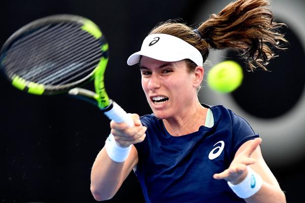 Johanna Konta starts with win in brisbane international tennis tournament - Tennis News in Hindi