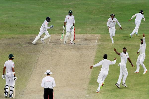Sri Lanka beat Pakistan by 68 runs in second test, Dimuth Karunaratne man of the match - Cricket News in Hindi