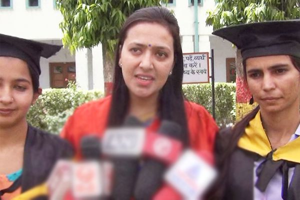 One word of governors speech was full of inspiration and energy said Dr. Aarti Agrawal, Assistant Professor of the Hindi Department - Kaithal News in Hindi
