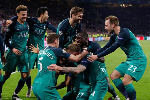Champions League : Tottenham Hotspur beat Ajax to enter in final - Football News in Hindi