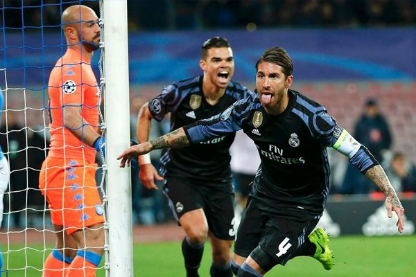 Champions League : Real Madrid football club beat Napoli to enter in quarter final - Football News in Hindi