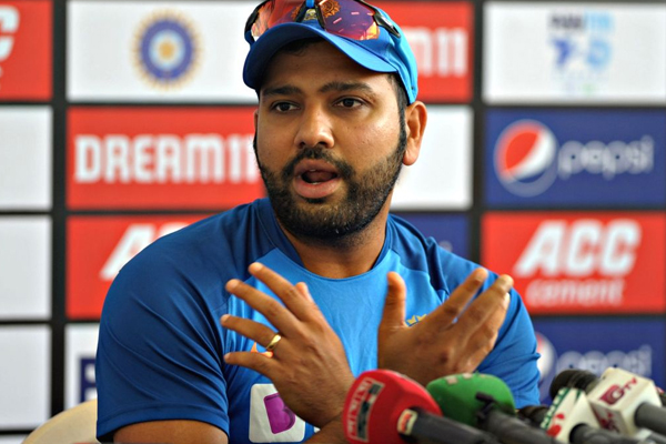 Indian captain Rohit Sharma accepts that team in pressure for second t20 match against bangladesh - Cricket News in Hindi