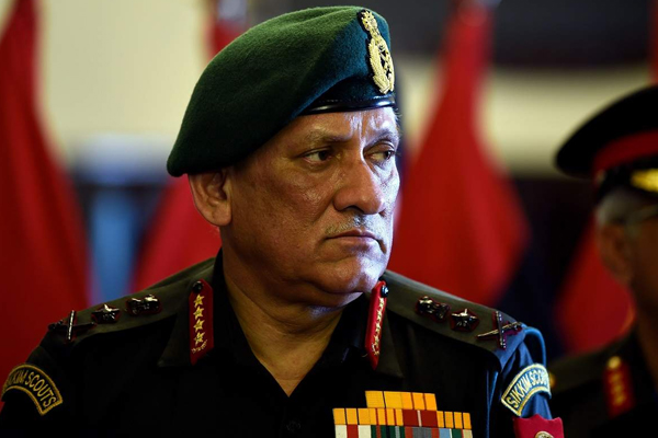 Army chief Bipin Rawat says, situation along LoC can escalate any time - Delhi News in Hindi