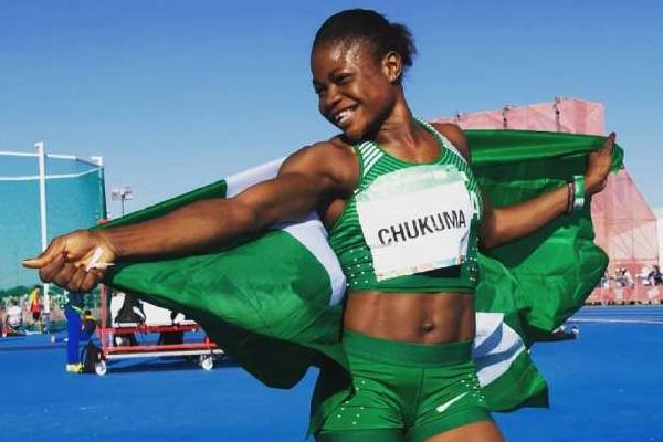 Youth Olympic (Athletics) : Rose Chukuma won 100 meter race - Sports News in Hindi