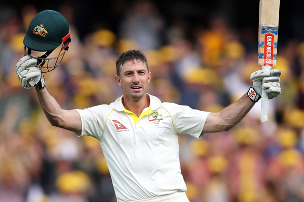 Ashes Series : Australia strong against England in second test with help of shaun marsh century - Cricket News in Hindi