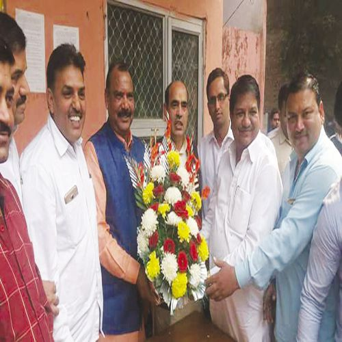 newly eleceted chairman takes the charge - Faridabad News in Hindi