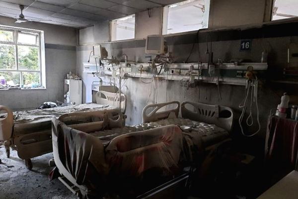 छत्तीसगढ़ के निजी अस्पताल में लगी आग, 4 की मौत