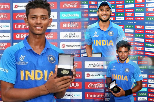 Yashasvi Jaiswal, Ravi Bishnoi, Kartik Tyagi named in ICC U-19 World Cup Team of Tournament - Cricket News in Hindi