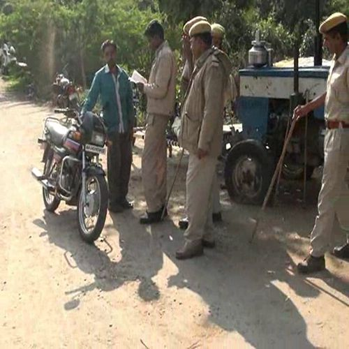 Police launched a search operation against car thieves - Sirohi News in Hindi