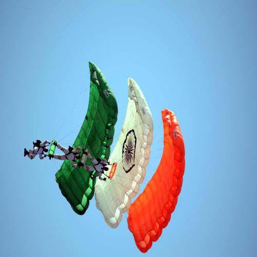 Acrobatic show in the sky heroes - Jodhpur News in Hindi