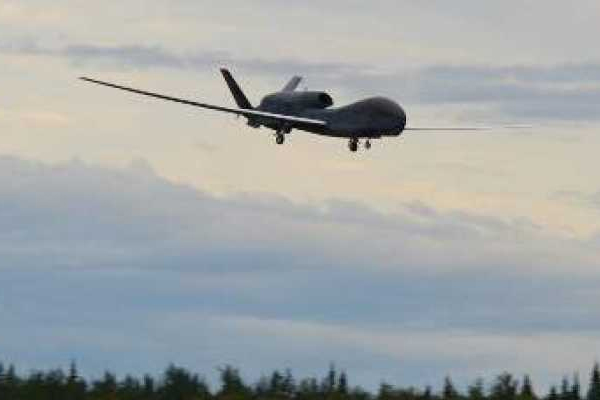 Pakistani drone enters Indian border, BSF on alert - Firozpur News in Hindi