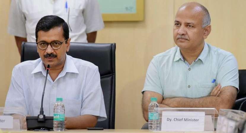 Kejriwal and Sisodia greeted Independence Day - Delhi News in Hindi