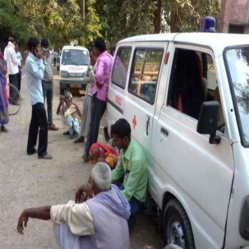 doughter told the tale of sacrificing her in fire by in-laws - Allahabad News in Hindi