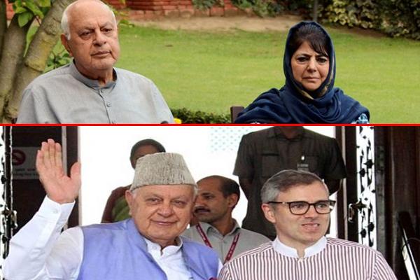 No decision on release of Farooq, Omar and Mehbooba: BJP leader Avinash Rai Khanna - Srinagar News in Hindi