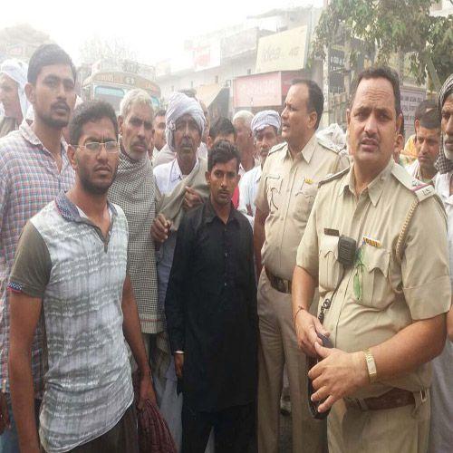 Farmers blocked on highway - Kaithal News in Hindi