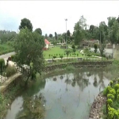 In the absence of handling water pond in ruins - Rupnagar News in Hindi