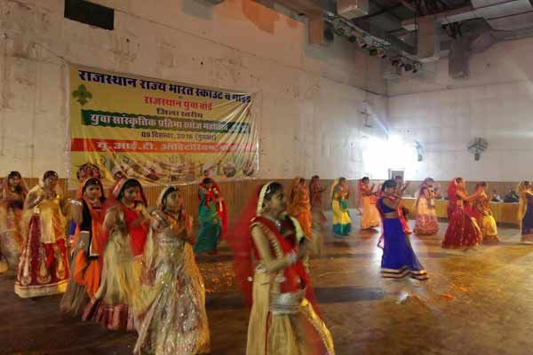 Youth Cultural Talent Search competition - Bharatpur News in Hindi