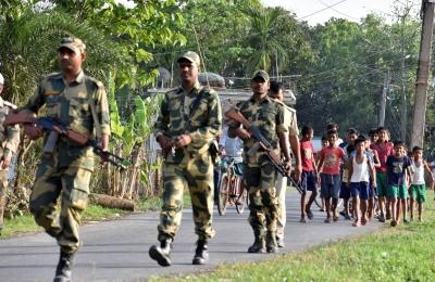 BSF apprehends Chinese national from near Bengal border - Kolkata News in Hindi
