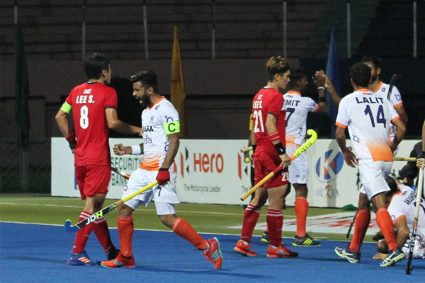 Asia Cup : Indian hockey team plays draw with South Korea - Sports News in Hindi