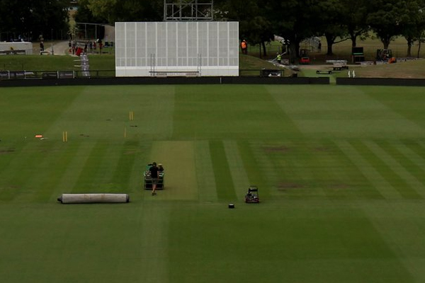 Second Test : BCCI shares picture of christchurch pitch and asks this question - Cricket News in Hindi