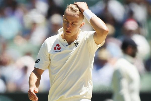 Ashes Series : Tom Curran missed first test wicket due to no ball - Cricket News in Hindi