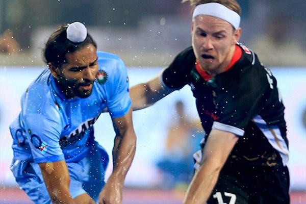 HWL Finals : Indian hockey team lose from Germany by 0-2 - Sports News in Hindi