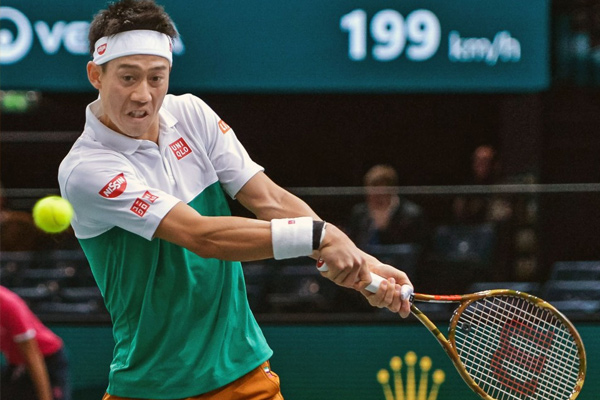 Paris Masters : Kei Nishikori enter in third round - Tennis News in Hindi