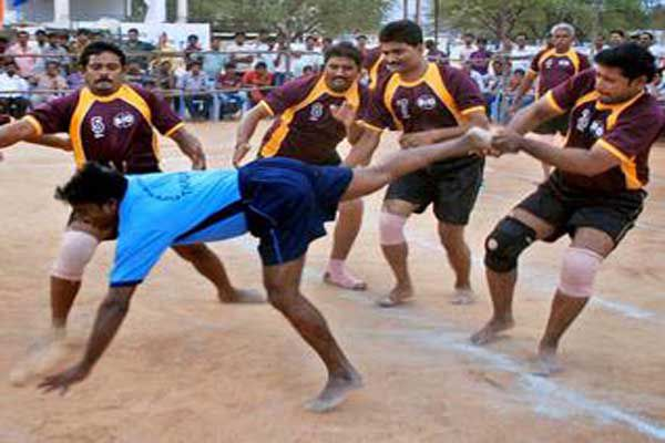 kabaddi competition started at nayna devi - Himachal Bilaspur News in Hindi