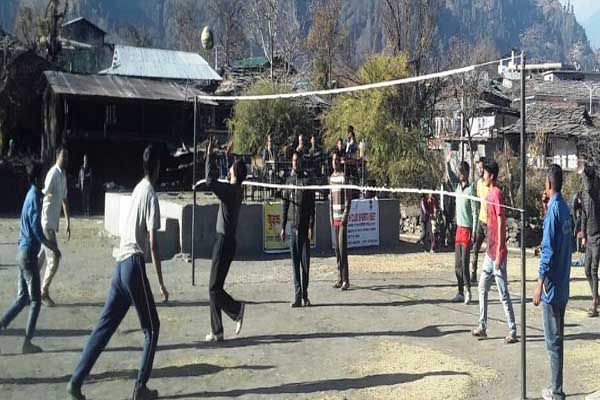 Youth Club Sports Meet held at Bhalyani - Kullu News in Hindi