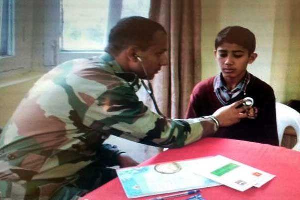 Tripik Brigade construed medical camp at Nitthr - Kullu News in Hindi