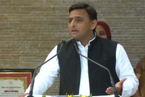 Akhilesh Yadav re elected as Samajwadi Party chief for five years in agra - Agra News in Hindi