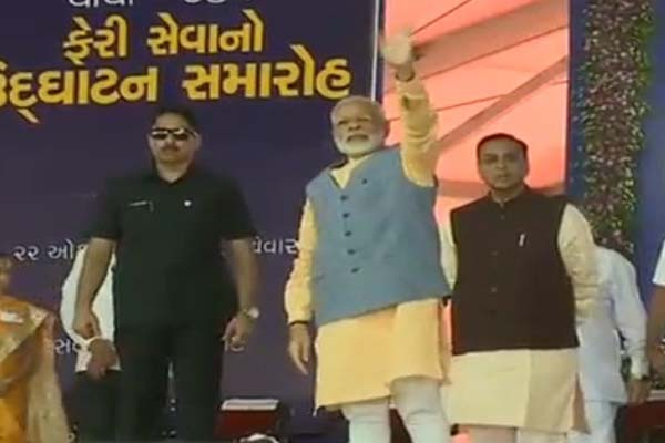 narender Modi visit to Gujarat again here third round in October - Bhavnagar News in Hindi