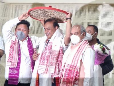 हिमंत बिस्वा सरमा सोमवार को असम के 15 वें मुख्यमंत्री के रूप में संभालेंगे कार्यभार