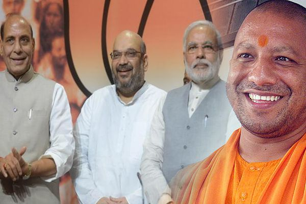 CM of UP Yogi Adityanath met PM Modi, Rajnath, Shah, decision on portfolio soon - Delhi News in Hindi