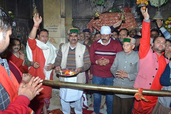 Secret Nwaratre closing day continued influx of pilgrims - Kangra News in Hindi