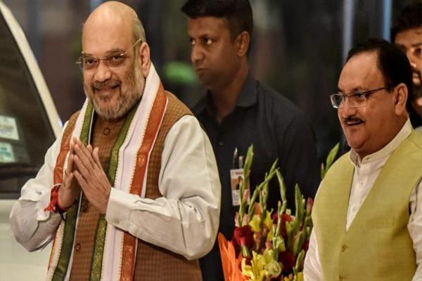 Amit Shah and JP Nadda to be given reception in Kolkata on Sunday - Kolkata News in Hindi