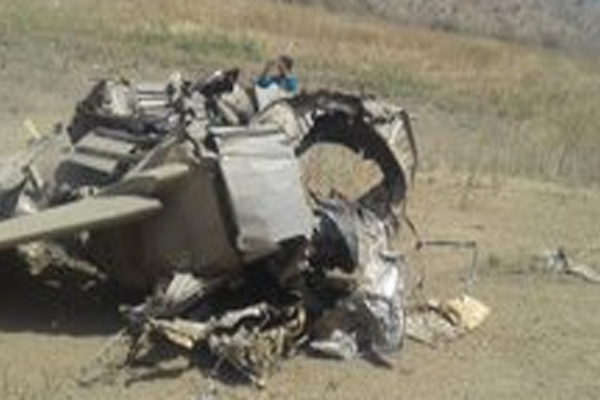 A fighter plane crashed in Rajasthan, Pilot death - Sirohi News in Hindi