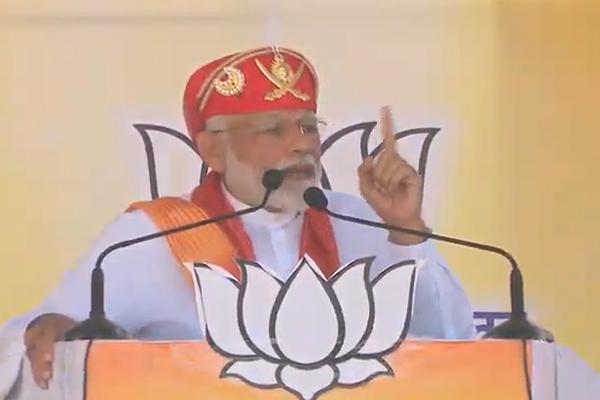 PM मोदी का कांग्रेस पर तंज, सत्ता को अपनी तिजोरी भरने का माध्यम बनाया