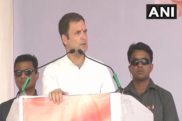 राहुल ने माेदी सरकार पर लगाया आरोप, 15-20 लोग चला रहे हैं सरकार