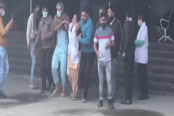 Delhi:  Fire broke out in ESIC hospital in Noida Sector-24 - Delhi News in Hindi