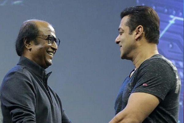 Came uninvited just to meet Rajinikanth says Salman Khan - Bollywood News in Hindi