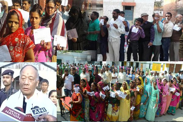 Live assembly elections: voting in Uttar Pradesh and Manipur continues - Lucknow News in Hindi