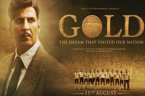 Gold teaser: Akshay Kumar is out there to win the world in pre-independence era - Bollywood News in Hindi