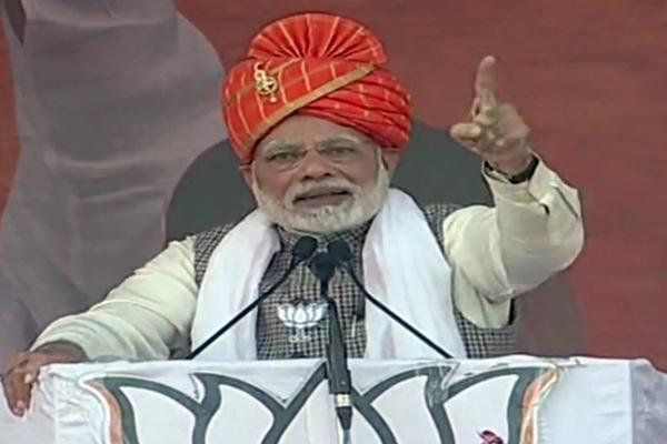 दौसा : प्रधानमंत्री मोदी बोले, न कांग्रेस के पास नीति है और न ही नीयत