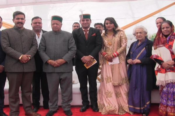 Shimla My Wyss area is rural, the son will find a side seat: Virbhadra Singh - Mandi News in Hindi