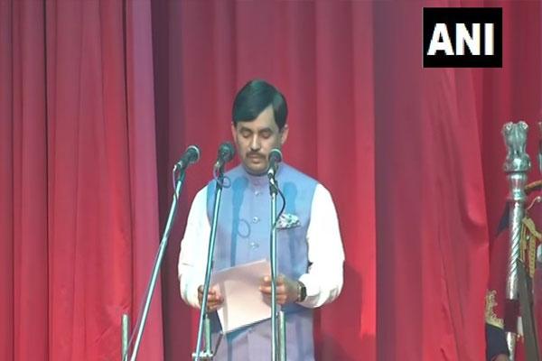 Bihar: Nitish cabinet expanded, BJP 9 and JDU 8 ministers, Shahnawaz Hussain sworn in - Patna News in Hindi