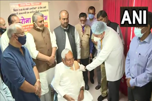 Corona vaccine to be given free in Bihar: Nitish Kumar - Patna News in Hindi