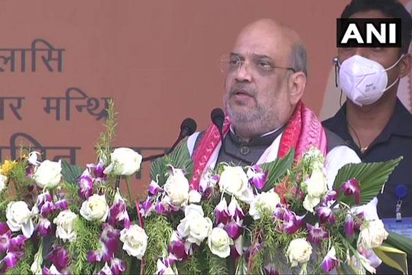 BJP will retain power in Assam: Amit Shah - Guwahati News in Hindi